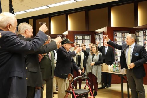 A Dr. Pepper Toast to Russell Scott!
